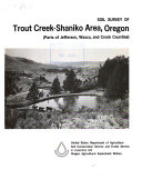 Soil Survey of Trout Creek-Shaniko Area, Oregon (parts of Jefferson, Wasco, and Crook Counties)