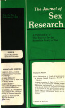The Journal Of Sex Research Book PDF