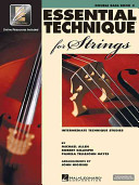 Essential Technique 2000 for Strings Book PDF