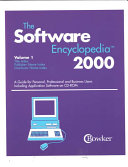The Software Encyclopedia 2000