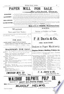 The Paper Mill and Wood Pulp News