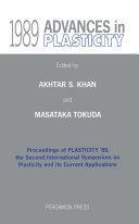 Advances in Plasticity 1989