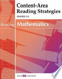 Content Area Reading Strategies for Mathematics Book