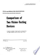 Comparison of Two Vision testing Devices Book