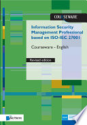 Information Security Management Professional based on ISO IEC 27001 Courseware revised Edition    English Book