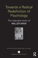Towards a Radical Redefinition of Psychology Pdf/ePub eBook