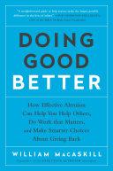 Doing Good Better Pdf/ePub eBook