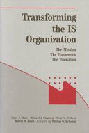 Transforming the IS Organization