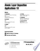Atomic Layer Deposition Applications 10