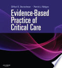 Evidence Based Practice of Critical Care E book Book