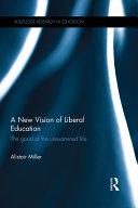 A New Vision of Liberal Education Pdf/ePub eBook