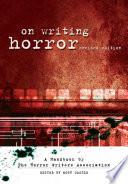 On Writing Horror