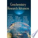 Geochemistry Research Advances