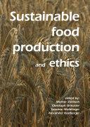 Sustainable food production and ethics [Pdf/ePub] eBook