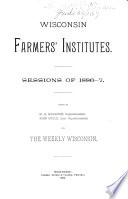 Wisconsin Farmers  Institutes