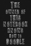 The Owner of this Notebook Knows how to Doodle