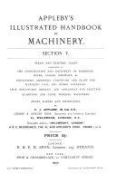 Appleby's Illustrated Handbook of Machinery ...