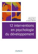 Pdf 12 interventions en psychologie du développement Telecharger