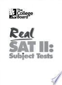 Real SAT II  : subject tests
