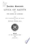 Lives of saints from the Book of Lismore