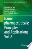 Nanopharmaceuticals: Principles and Applications Vol. 2