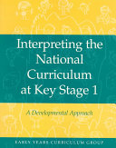Interpreting the National Curriculum at Key Stage 1