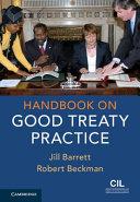 Handbook on Good Treaty Practice