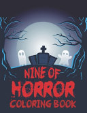 Nine of Horror Coloring Book