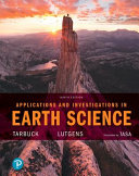Applications and Investigations in Earth Science Book