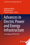 Advances In Electric Power And Energy Infrastructure Book PDF