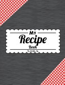 My Recipe Book To Write In