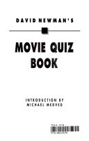 David Newman s Movie Quiz Book