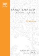Career Planning in Criminal Justice