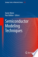 Semiconductor Modeling Techniques Book