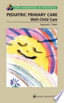 Pediatric Primary Care Book