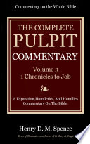 The Pulpit Commentary Volume 3