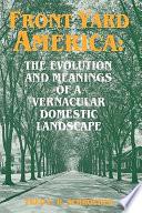 Front Yard America Book