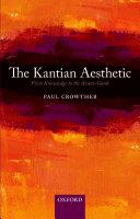 The Kantian Aesthetic