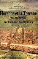 Pdf Florence et la Toscane, XIVe-XIXe siècles Telecharger