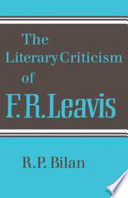 The Literary Criticism Of F R Leavis