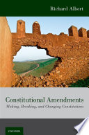 Constitutional Amendments Book