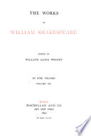 The Works of William Shakespeare  Preface to the first edition  Timon of Athens  Julius Caesar  Macbeth  Hamlet  Addenda