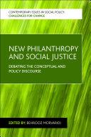 New Philanthropy and Social Justice Pdf/ePub eBook