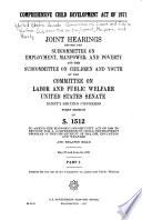Comprehensive Child Development Act of 1971