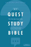 Pdf NIV, Quest Study Bible, eBook Telecharger