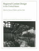 Regional Garden Design in the United States