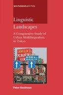 Linguistic Landscapes Pdf/ePub eBook