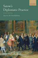 Satow's Diplomatic Practice [Pdf/ePub] eBook