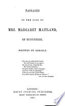Passages in the Life of Mrs  Margaret Maitland of Sunnyside