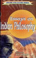 Essays on Indian Philosophy ebook